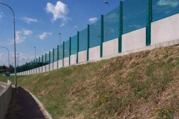 Шумозащитные барьеры из Плазкрил (ПММА)