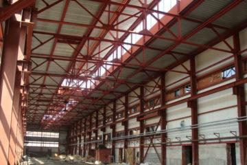 Остекленение цехов и производств