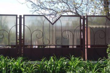 Забор и перегородки